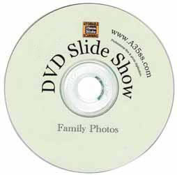 Free DVD slide show disk with images stored on the disk